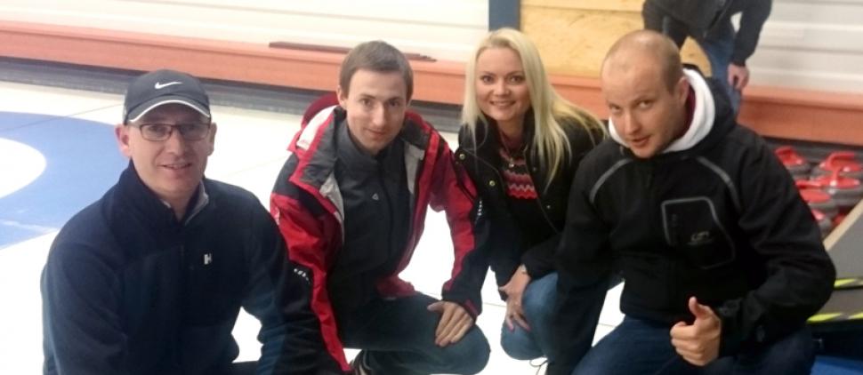 Obhájili jsme druhé místo na curlingovém turnaji médií