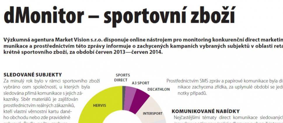 Direct komunikace v sektoru sportovního zboží