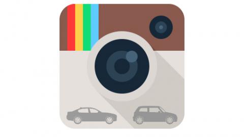 #instagram, ani automobilky ho nepodceňují