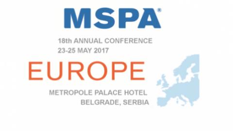 Evropská MSPA konference (Bělehrad 2017)
