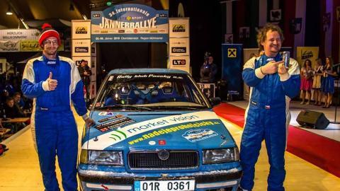 """Market Vision Rally Team dokončil """"sněhový Dakar""""!"""