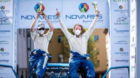 Market Vision Rally Team opět na scéně Mistrovství České republiky v rally