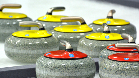 Curlingová akce pro klienty