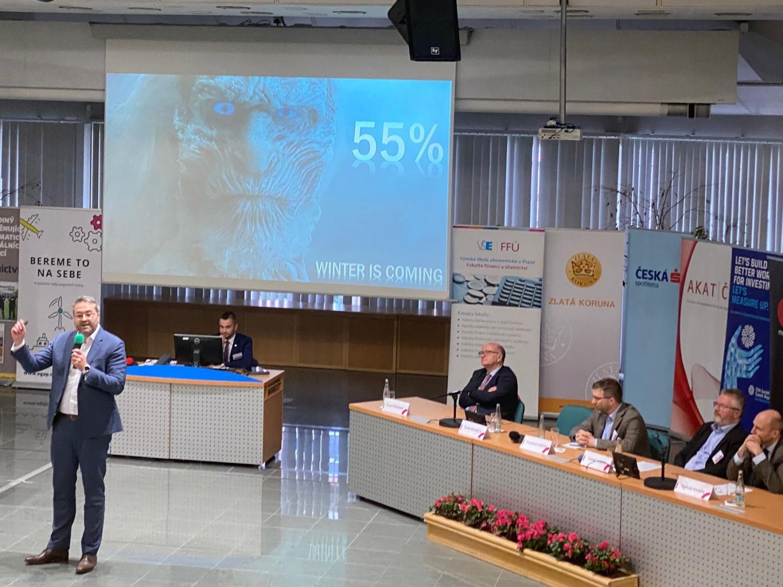 Účast na konferenci o financích na VŠE