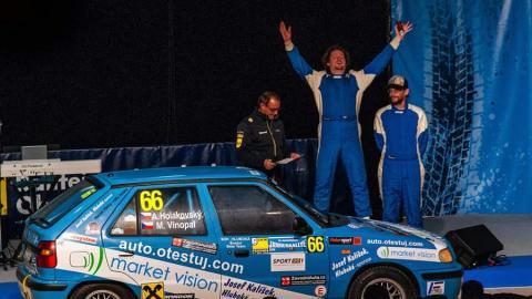 Market Vision Rally Team potřetí vřadě obstál na Internationale Jänner Rallye