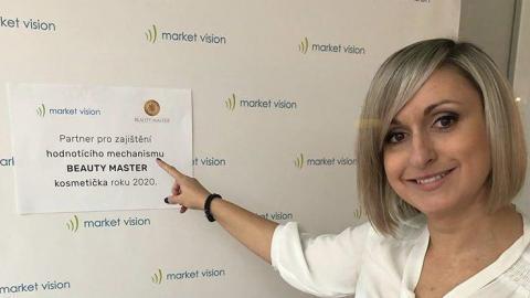 Market Vision je partnerem projektu BEAUTY MASTER kosmetička roku 2020